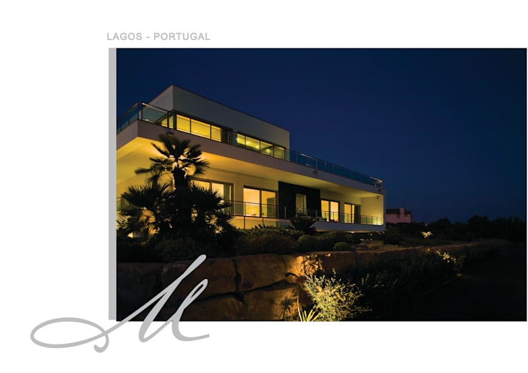 House in Lagos:   por Maria Raposo Interior Design