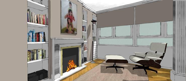 Aprovechando muebles de mi anterior vivienda:  de estilo  de CEROESPACIO Estudio de Decoración