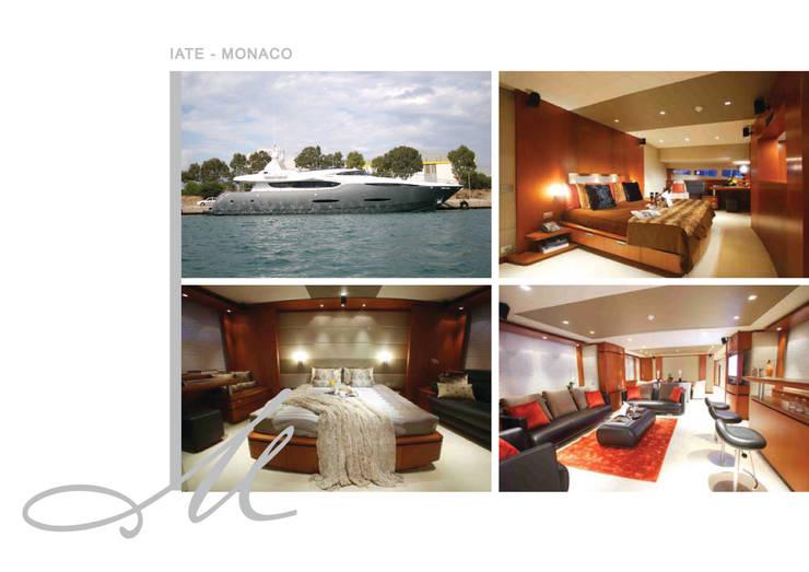 Yacht:   por Maria Raposo Interior Design
