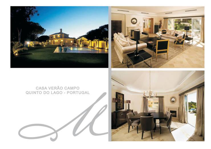 Summer House:   por Maria Raposo Interior Design