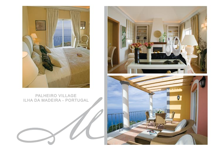Palheiro Village:   por Maria Raposo Interior Design