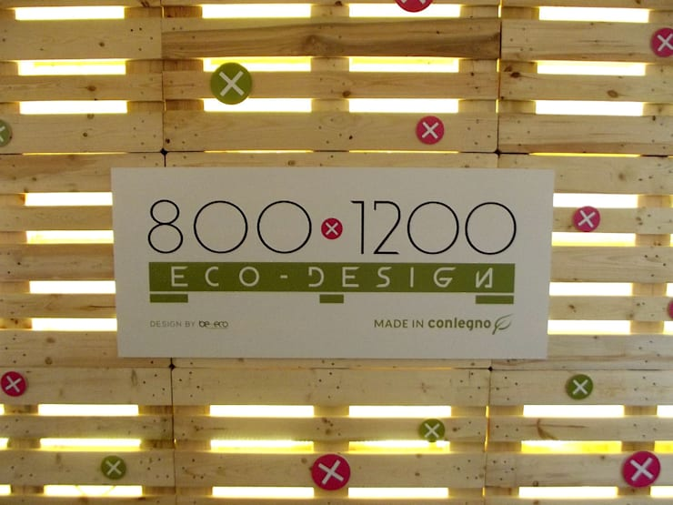800x1200 Eco Design:  in stile  di be-eco for sustainable costruction