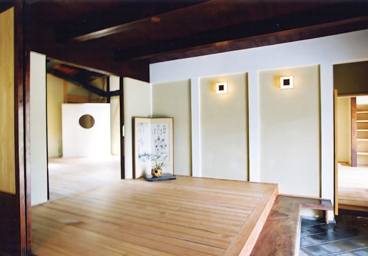 Ruang Keluarga oleh 株式会社古田建築設計事務所, Asia