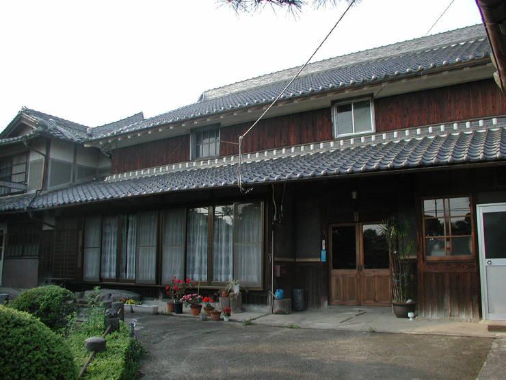 再生前の建物外観: 株式会社古田建築設計事務所が手掛けたアジア人です。,和風