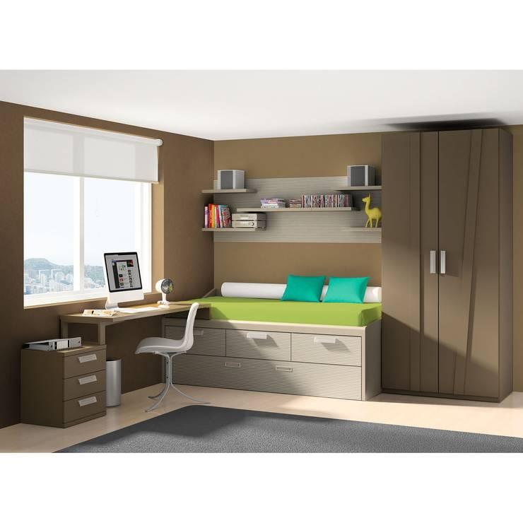 Dormitorio juvvenil Delta de Dissery: Habitaciones infantiles de estilo  de Ociohogar