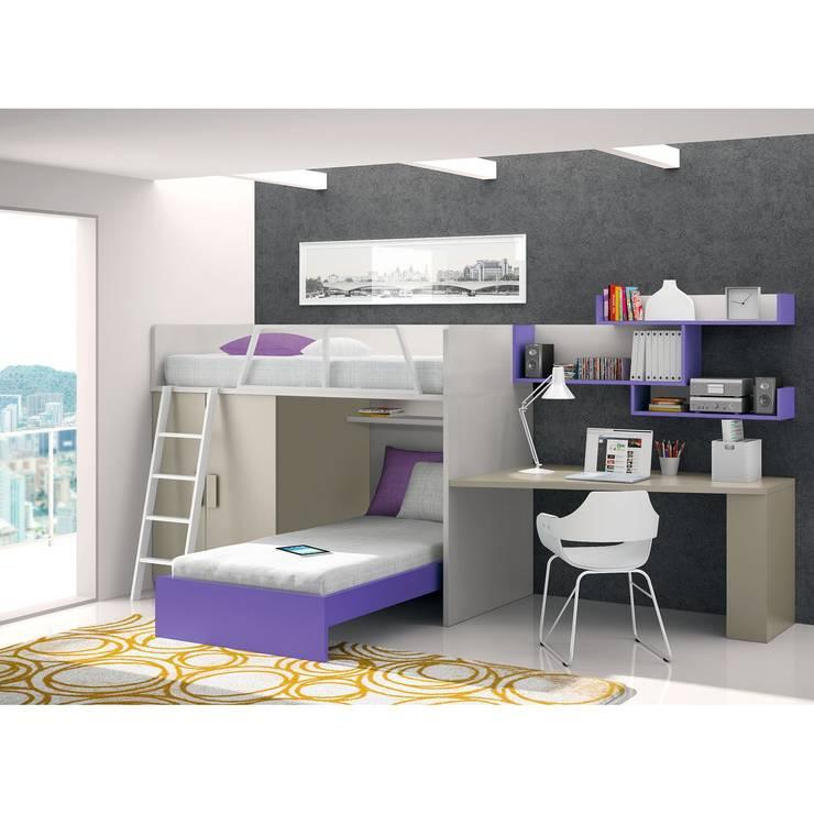 Violet de Dissery: Habitaciones infantiles de estilo  de Ociohogar