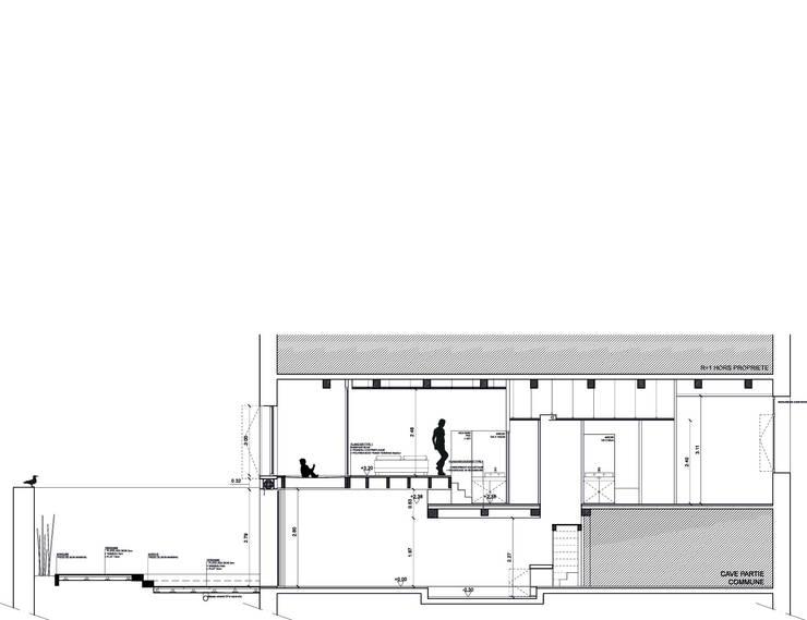 MVJ: Maisons de style  par PANARCHITECTURE