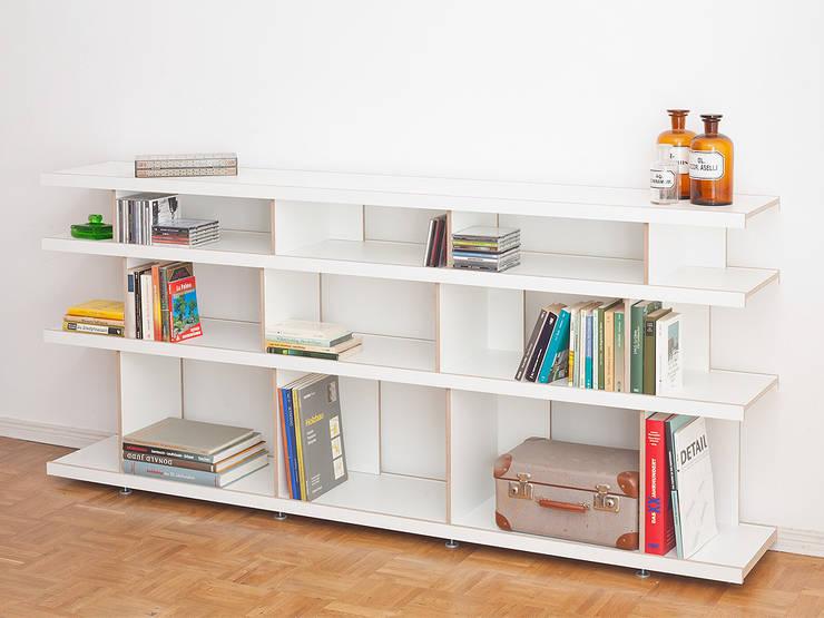 Bücherregal BRR 200x90:  Wohnzimmer von Vanpey
