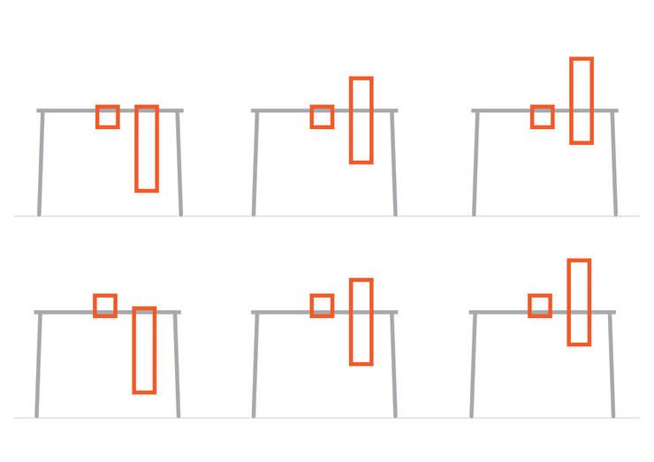 IGGY : Ingresso, Corridoio & Scale in stile  di luca longu design
