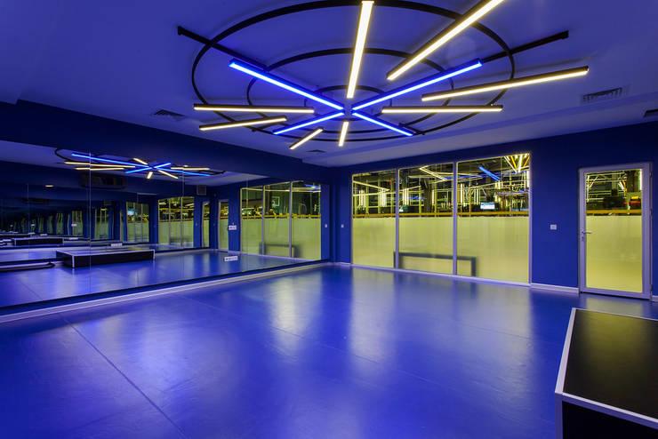 CO Mimarlık Dekorasyon İnşaat ve Dış Tic. Ltd. Şti. – Çayyolu / Ankara:  tarz Fitness Odası