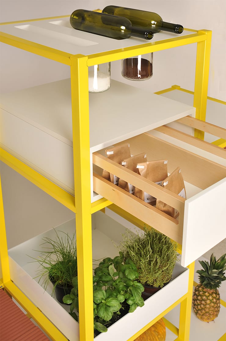 Food Storage: Cucina in stile  di Friday Project