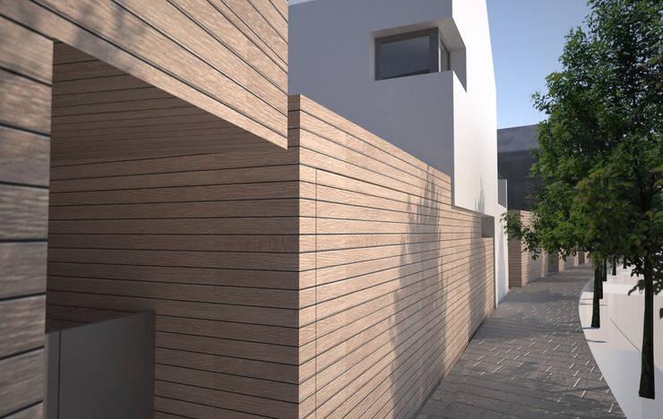 FRONTE STRADA:  in stile  di Studio 3xL , Moderno