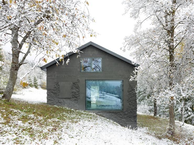 Projekty,  Domy zaprojektowane przez savioz fabrizzi architectes