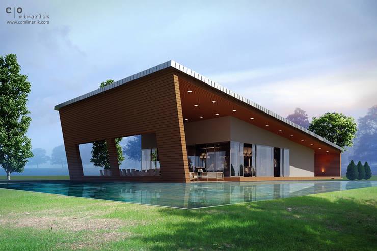 Houses by CO Mimarlık Dekorasyon İnşaat ve Dış Tic. Ltd. Şti.