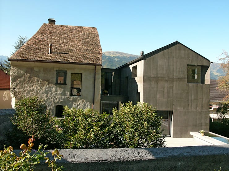 Fassade Norden:  Häuser von atelier-f ag