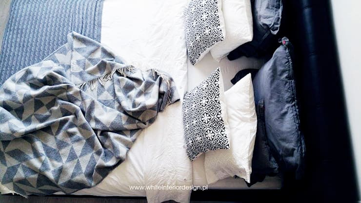 Scandinavian style bedroom by White Interior Design Scandinavian