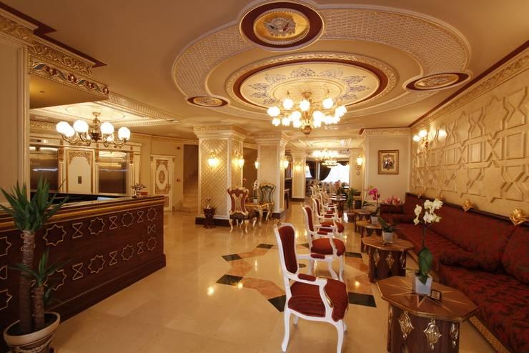 CO Mimarlık Dekorasyon İnşaat ve Dış Tic. Ltd. Şti. – Ottoman Taksim Square Otel:  tarz , Klasik