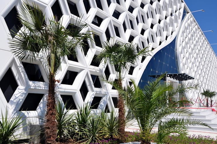 CO Mimarlık Dekorasyon İnşaat ve Dış Tic. Ltd. Şti. – Taç Mahal Düğün Sarayı:  tarz Evler, Modern