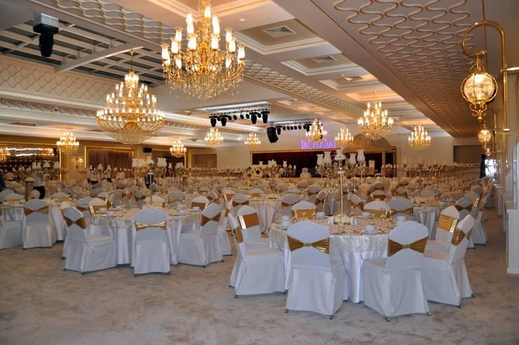 CO Mimarlık Dekorasyon İnşaat ve Dış Tic. Ltd. Şti. – Taç Mahal Düğün Sarayı: modern tarz , Modern