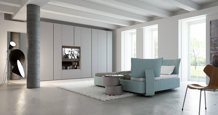 Caccaro wardrobe: Casa in stile  di ENGRAM STUDIO - Virtual Sets portfolio,