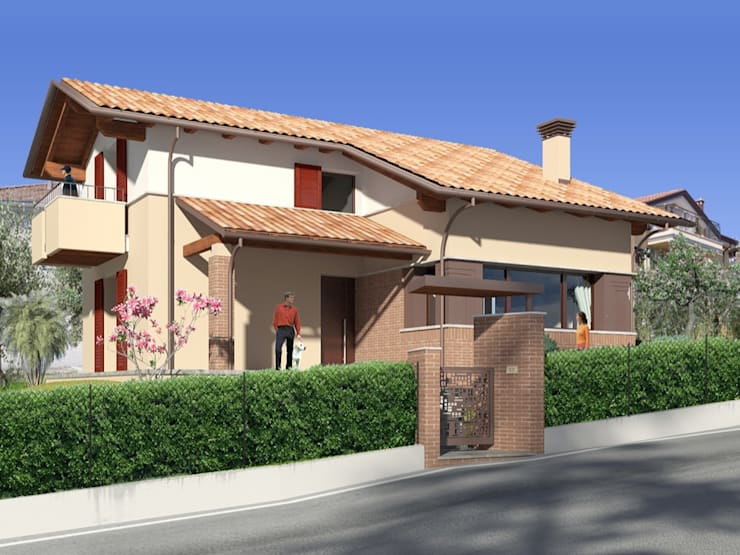 Abitazione privata.: Case in stile  di Albini Architettura,