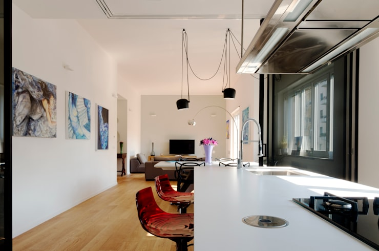Casa A1: Cucina in stile  di Studio Associato 3813