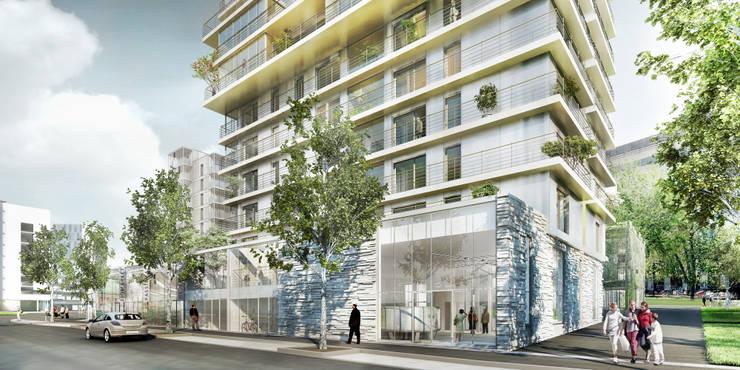 151 logements + activités_NANTES:  de style  par a/LTA