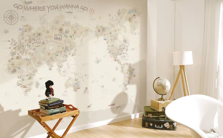 엄마사랑세계지도_W3020_청소년Beige: U2의  벽 & 바닥