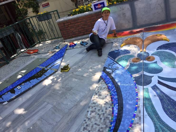 Mozaik Sanat Evi – Caferiye tekkesi <q>İstanbul Bir Masal</q> Mozaik Cephe projesi:  tarz