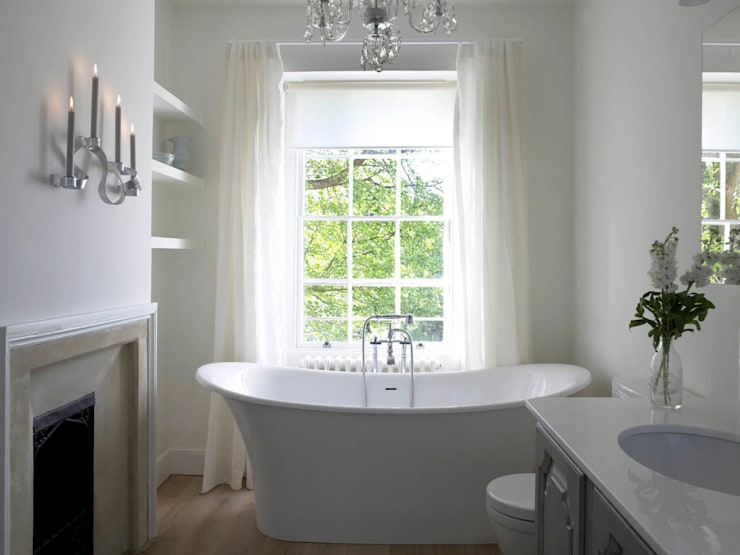 Bathroom, The Wilderness, Wiltshire, Concept Interior:  Bathroom by Concept Interior Design & Decoration Ltd