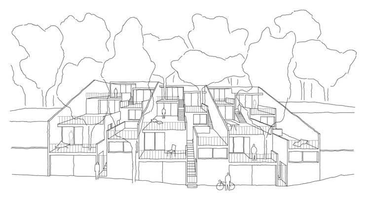 Casa con vista de Dellekamp Arquitectos