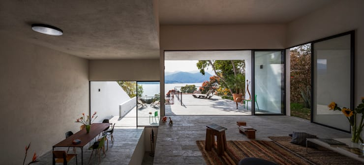 Projekty,  Taras zaprojektowane przez Dellekamp Arquitectos