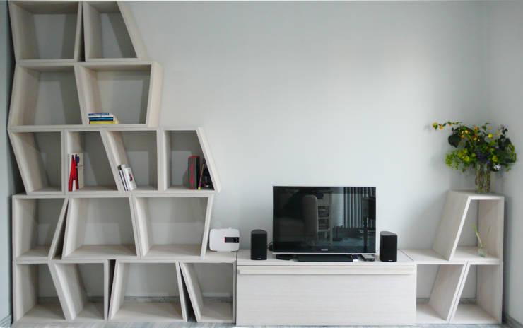 Ristrutturazione a Padova: Case in stile  di Vitalegno Sistema casa, Moderno