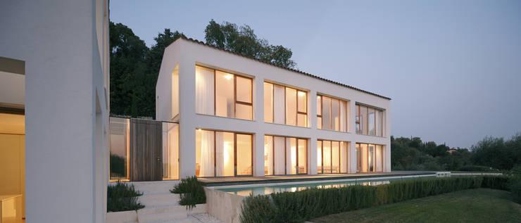 CASA OLEARIA PAIGLE . LAGO DI GARDA:  Häuser von brandl architekten . bda