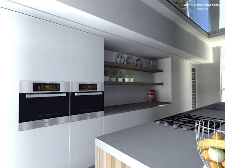 KITCHEN DESIGN: Cucina in stile  di Studio Frasson