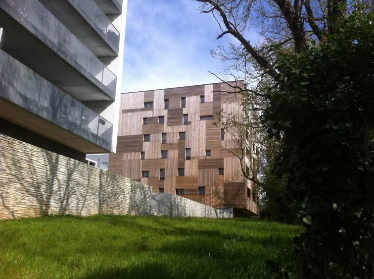 ZAC de la Pelousière Saint-Herblain:  de style  par Agence Garo Boixel