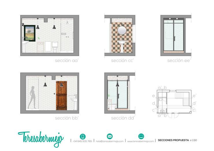 secciones propuesta:  de estilo  de  Diseñadora de Interiores, Decoradora y Home Stager