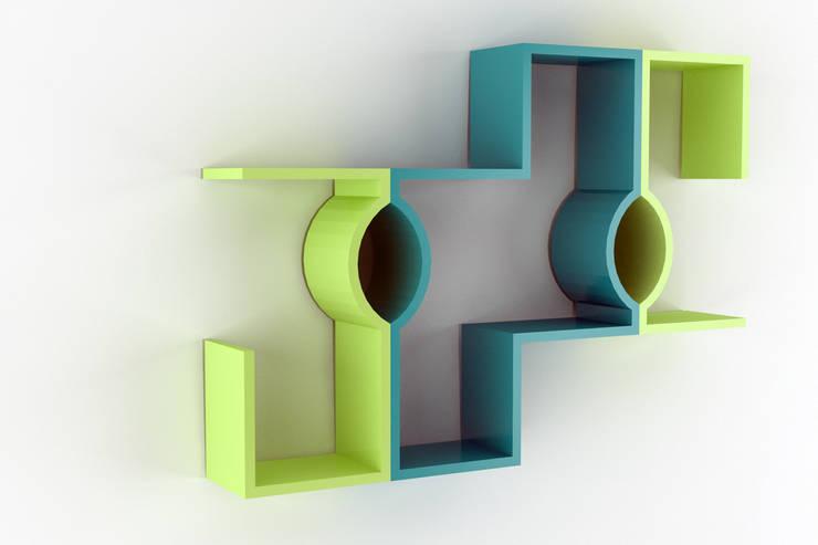 Composizione 3: Soggiorno in stile  di Architetto Paola Cocco