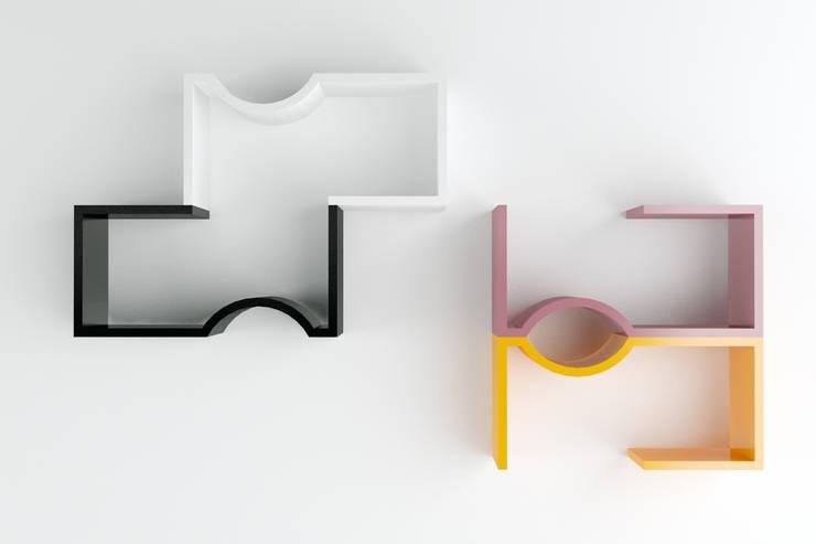 Composizione 2: Soggiorno in stile  di Architetto Paola Cocco