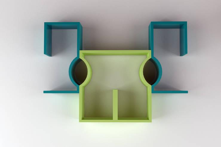 Composizione 1: Soggiorno in stile  di Architetto Paola Cocco