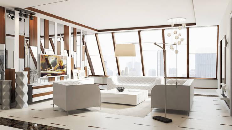 Wohnzimmer von Студия Искандарова, Modern