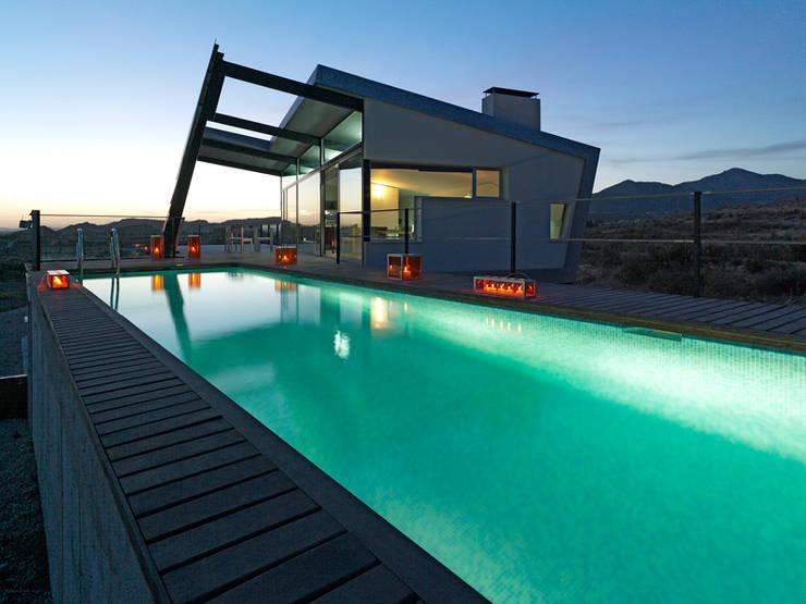 CASA RAMOS: Casas de estilo  de linobellotArquitecto