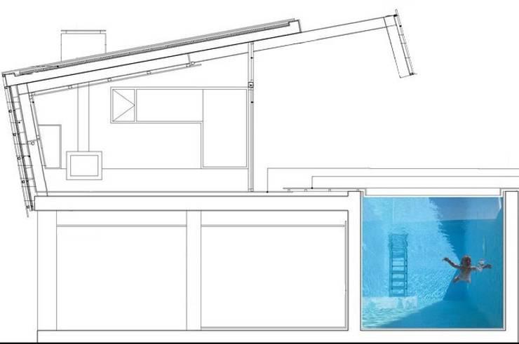 CASA RAMOS: Casas de estilo moderno de linobellotArquitecto