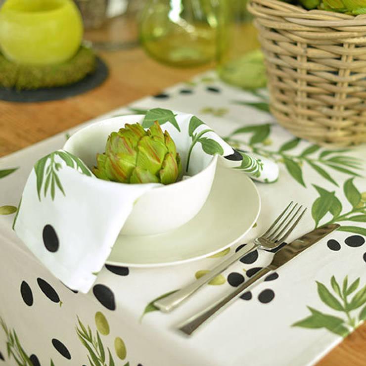 Appetitliche Olive:  Esszimmer von APART