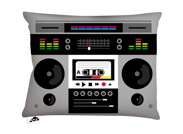 Ghetto Blaster:  de style  par Ak-Lh