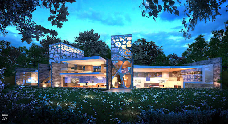 Zero Carbon House:   by Coupdeville