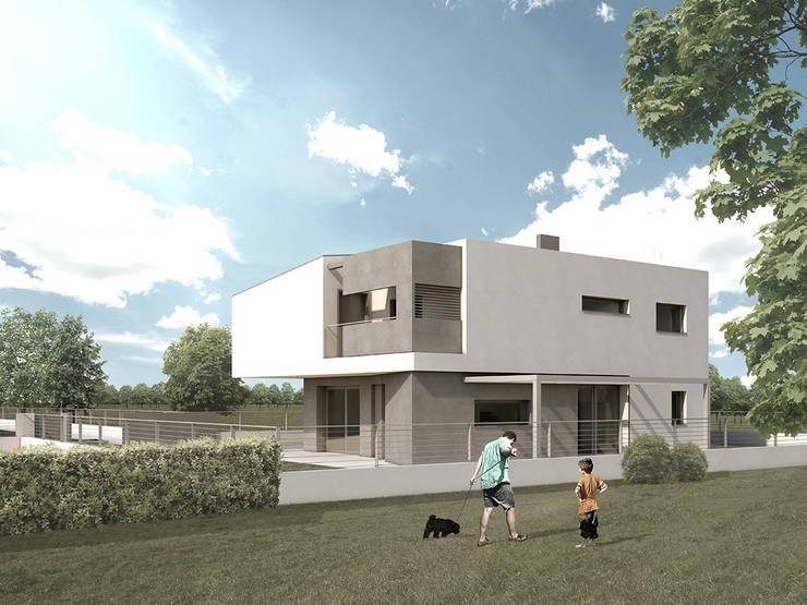 Casa DM:  in stile  di Mog Architetti