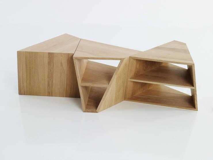gil coste design: modern tarz Oturma Odası