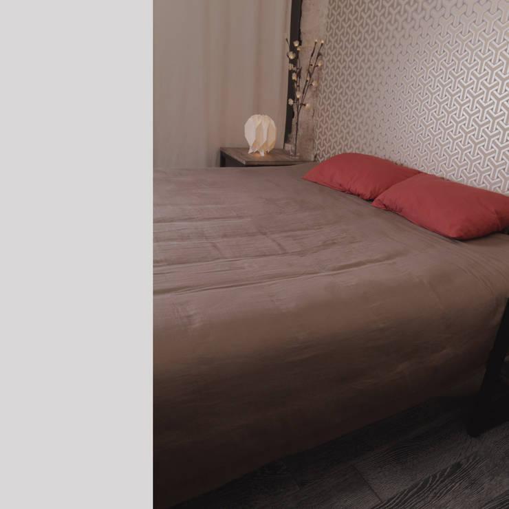 projet balinger - chambre: Chambre de style  par Padeker