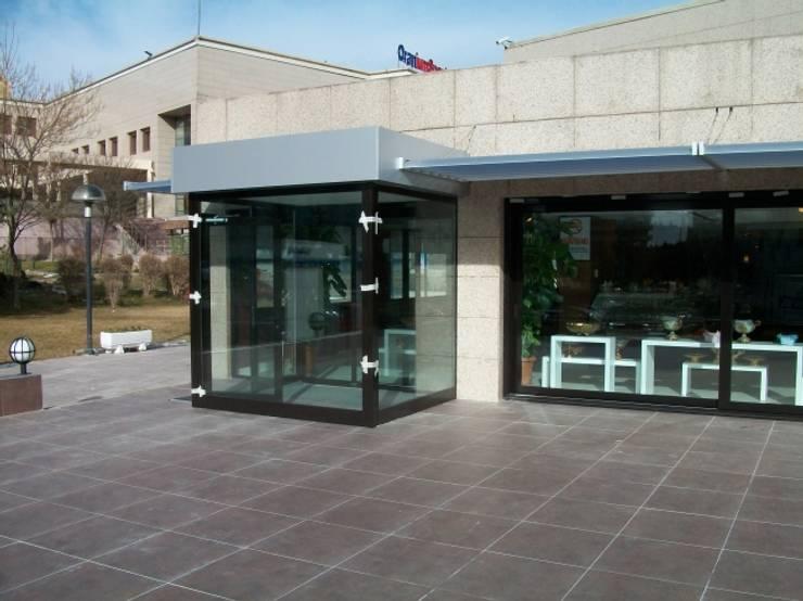 özgarip cam ltd şti – Aliminyum Rüzgarlık:  tarz Ofisler ve Mağazalar